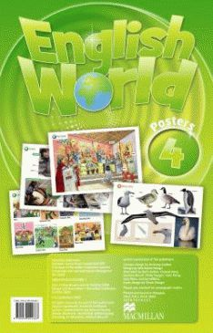 English World 4 Poster Pack