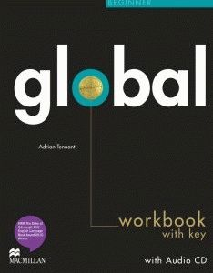 Global Beginner Workbook + CD with Key