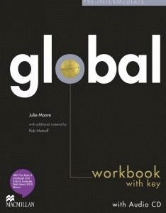Global Pre-intermediate Workbook + CD with Key