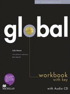 Global Pre-intermediate Workbook + CD with Key