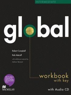 Global Intermediate Workbook + CD with Key