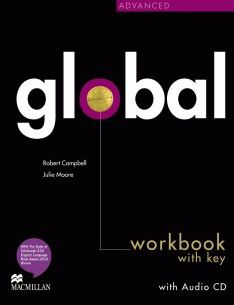 Global Advanced Workbook + CD with Key