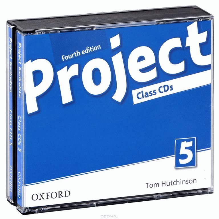 Project 4Ed 5 Class Audio CDs