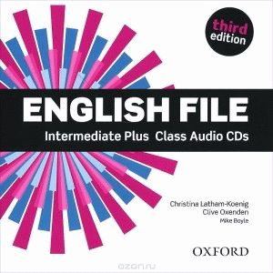 English File Intermediate Plus 3rd Ed Cl.CD