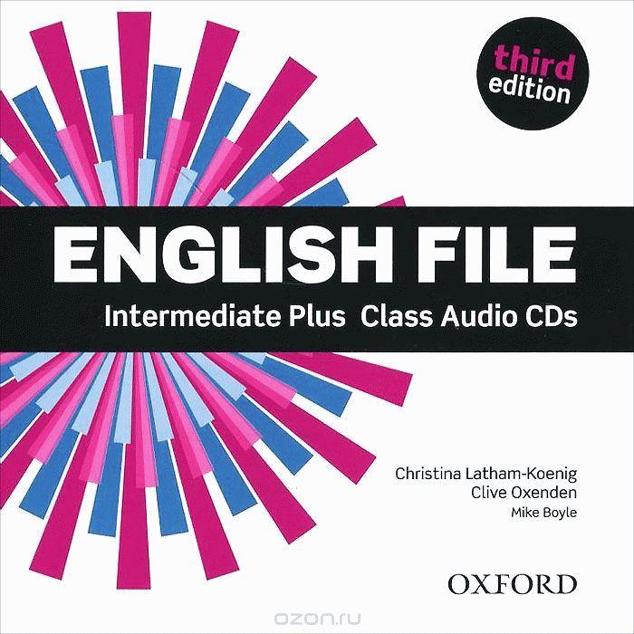 English File Intermediate Plus 3rd Ed Cl.CD