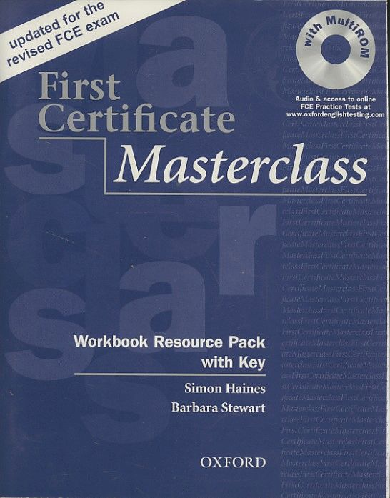First Certificate Masterclass. Workbook Resource Pack with key