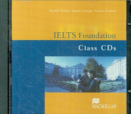 IELTS Foundation (Band 4-5.5) Class Audio CDs