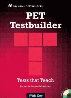 PET Testbuilder with key + Audio CD