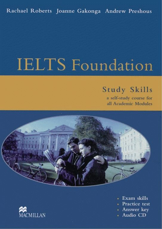 IELTS Foundation (Band 4-6) Study Skills Pack Academic