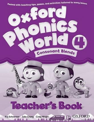 Oxford Phonics World 4 Teacher's Book