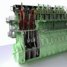 Устройство судового дизельного двигателя на английском