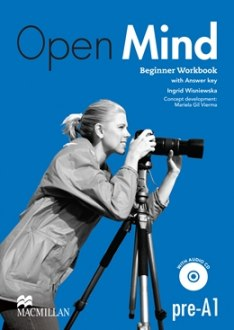 Open Mind Beginner Workbook with CD and Key