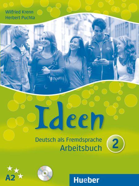 Ideen 2. Arbeitsbuch mit 2 Audio-CDs zum Arbeitsbuch