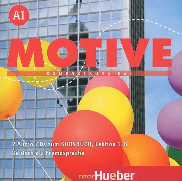 Motive A1 Audio-CDs zum Kursbuch Lektion 1–8