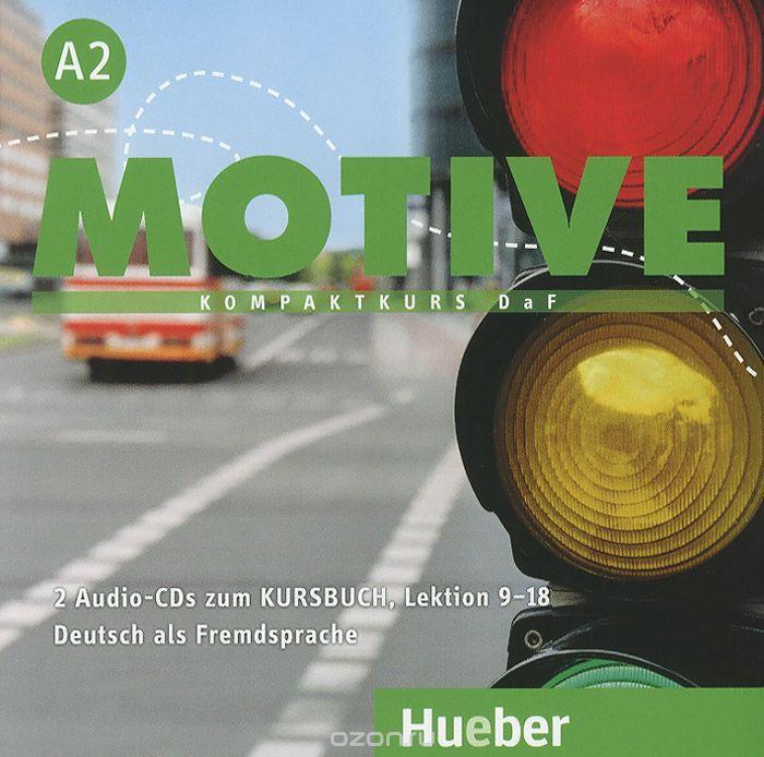 Motive A2 Audio-CDs zum Kursbuch