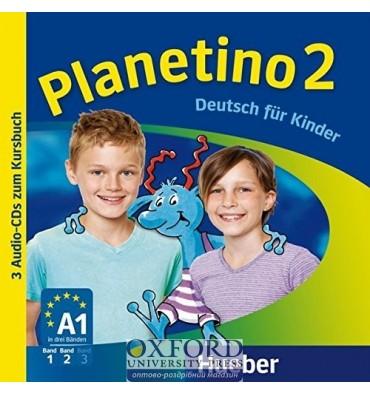 Planetino 2. Audio-CDs zum Kursbuch