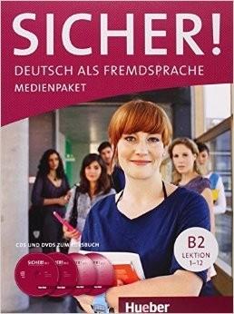 Sicher! B2 Medienpaket 2 Audio-CDs und 2 DVDs zum Kursbuch