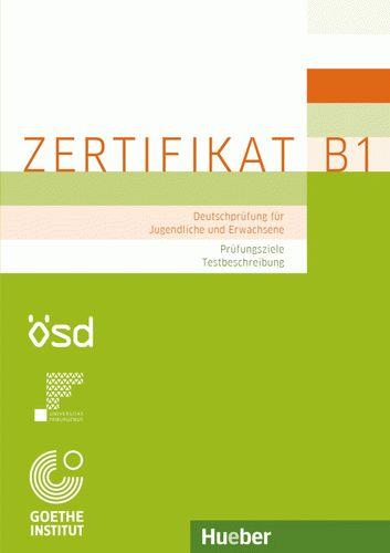 593 грн купить Zertifikat B1 Pruefungsziele Testbeschreibung