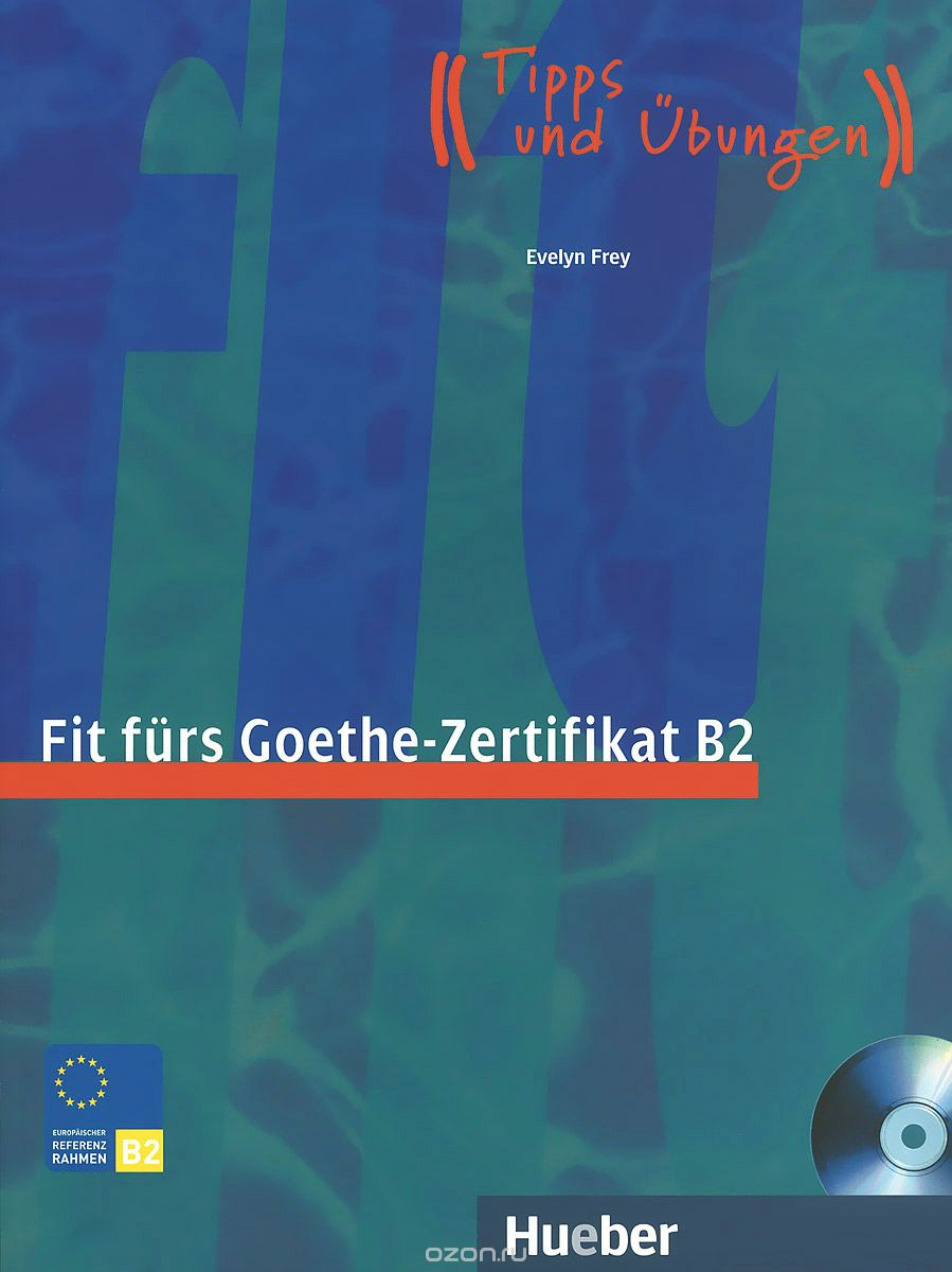 456 грн купить Fit Fürs Goethe Zertifikat B2 Lb Mit Cd Isbn