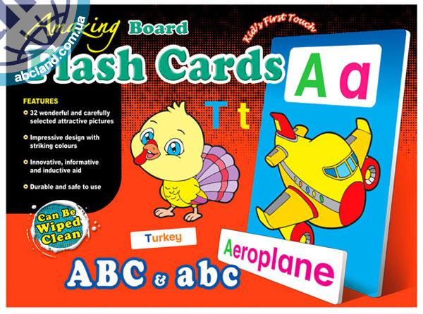 Набір наглядник карток Amazing Board Medium Flash Cards ABC and abc
