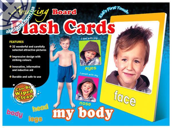 Набір наглядник карток Amazing Board Medium Flash Cards My Body