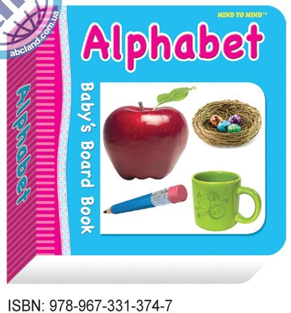 Підручник Baby's Board Books Alphabet