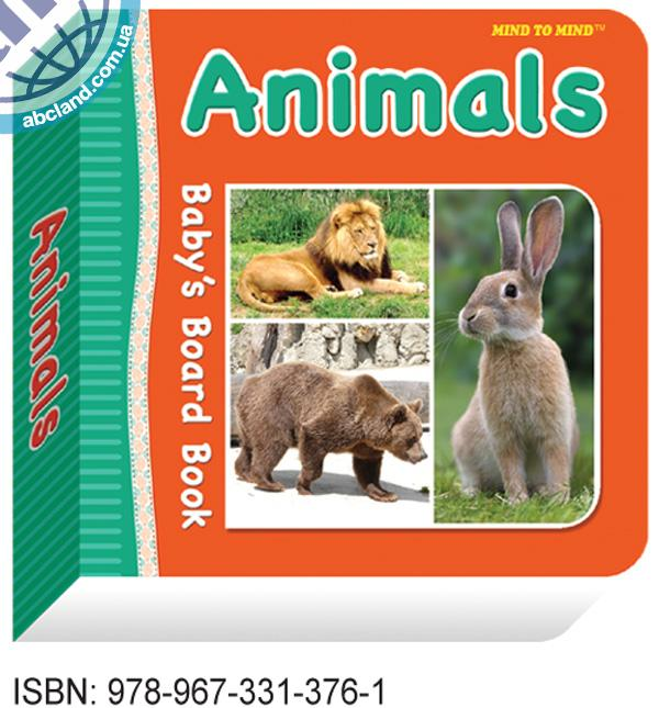 Підручник Baby's Board Books Animals