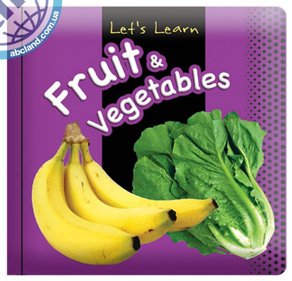 Підручник Medium Padded Books Fruit and Vegetables