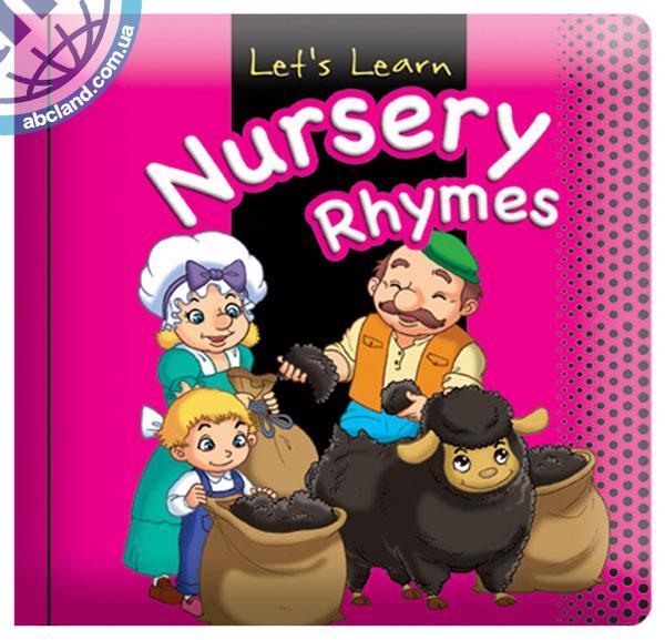 Підручник Medium Padded Books Nursery Rhymes