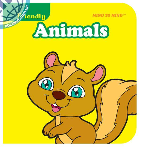 Підручник Mini Chunky Books (Eva Foam) Friendly Animals