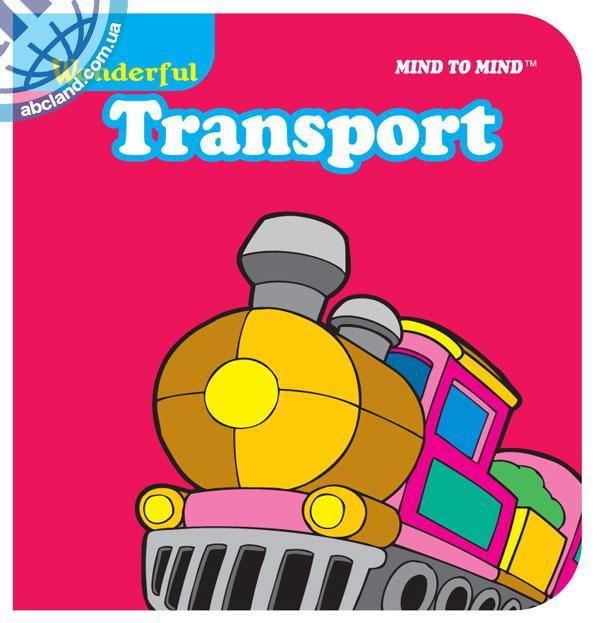 Підручник Mini Chunky Books (Eva Foam) Transport