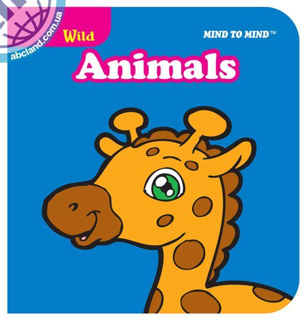 Підручник Mini Chunky Books (Eva Foam) Wild Animals
