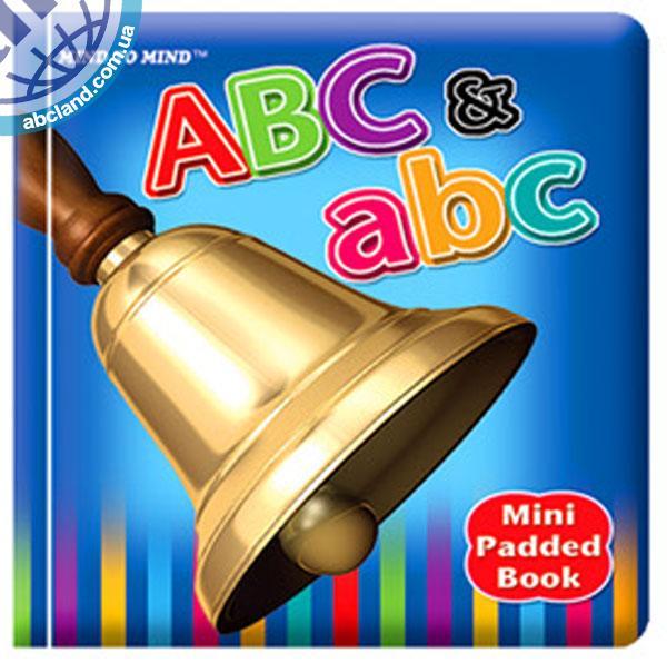 Підручник Mini Padded Books ABC and abc