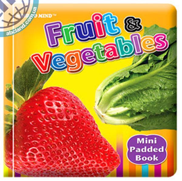Підручник Mini Padded Books Fruit and Vegetables