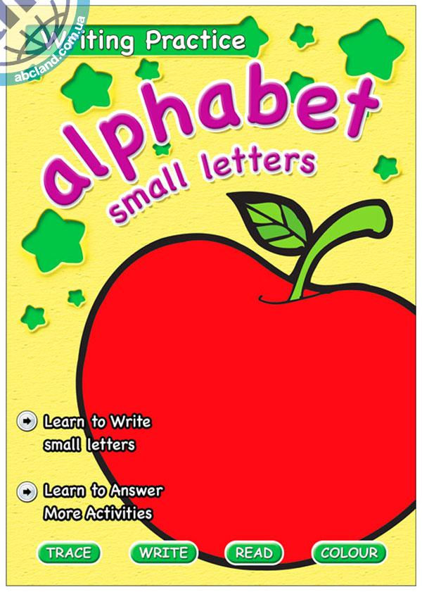 Підручник Writing Practice Alphabet (Small Letters)