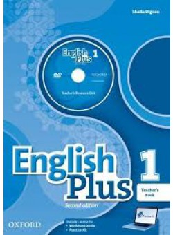 English Plus 1 2nd Edition Teacher's Book with Teacher's Resource Disk and access to Practice Kit