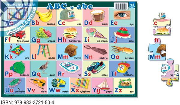 Fun With Puzzles ABC and abc
