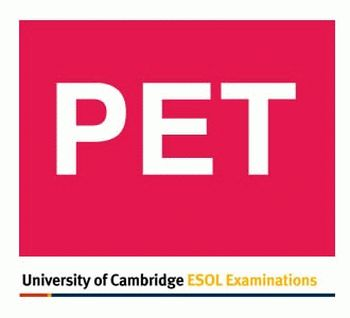 Экзамены Cambridge English PET