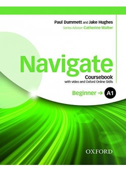 Navigate Beginner A1 Coursebook with DVD and Oxford Online Skills Program