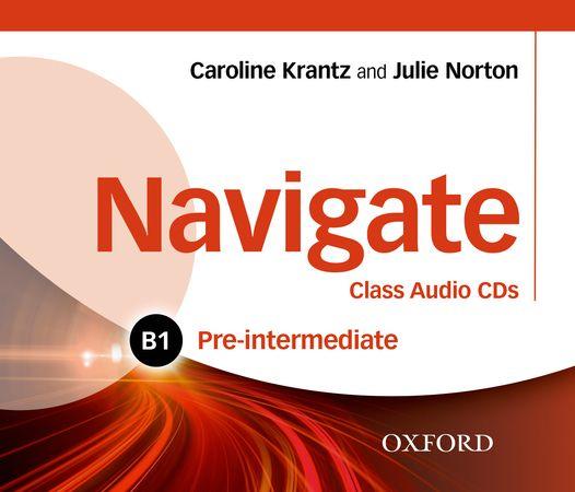 Navigate Pre-intermediate B1 Class Audio CDs