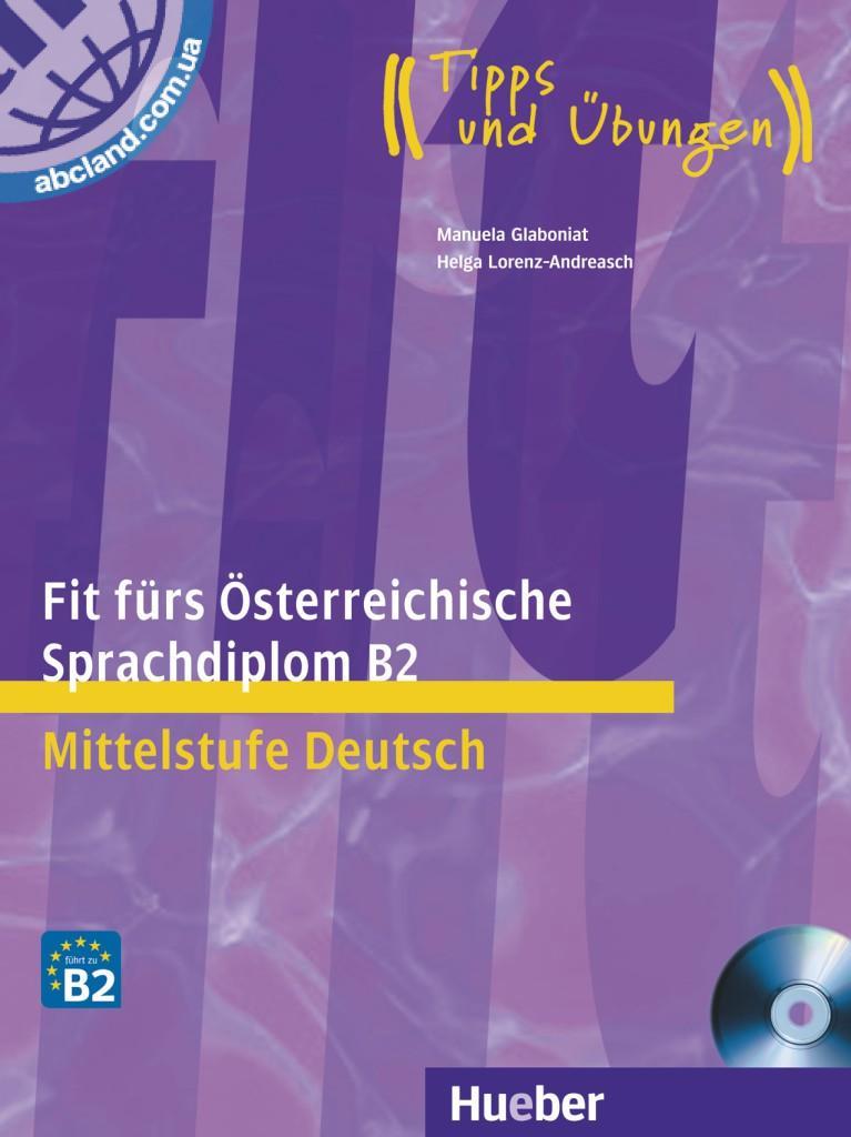 456 грн купить Fit Fürs österreichische Sprachdiplom B2 Lb Mit Cd