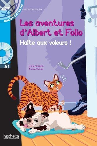 A1 Albert et Folio : Halte aux voleurs + CD audio MP3