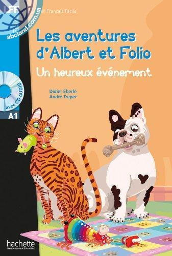 A1 Albert et Folio : Un heureux evenement + CD audio MP3
