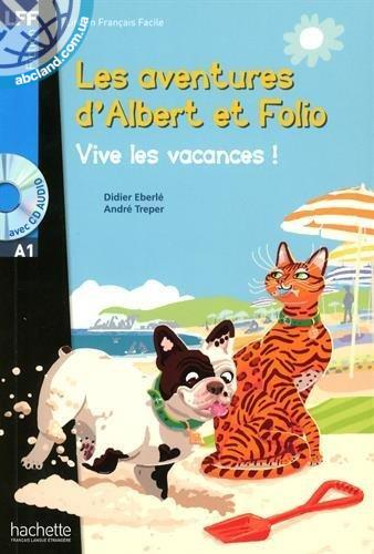 A1 Albert et Folio : Vive les vacances ! + CD audio MP3