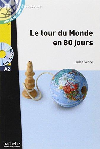 A2 Le Tour du monde en 80 jours + CD audio MP3 (Verne)