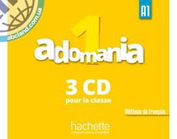 Adomania : Niveau 1 CD audio classe (x3)
