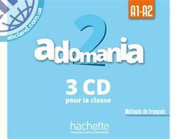Adomania : Niveau 2 CD audio classe (x3)