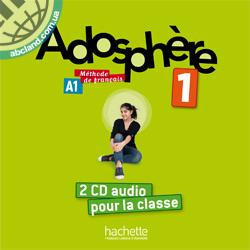 Adosphe're : Niveau 1 CD audio classe (x2)