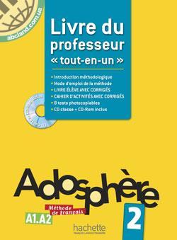 Adosphe're : Niveau 2 Livre du professeur