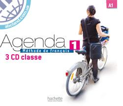 Agenda : Niveau 1 CD audio classe (x3)